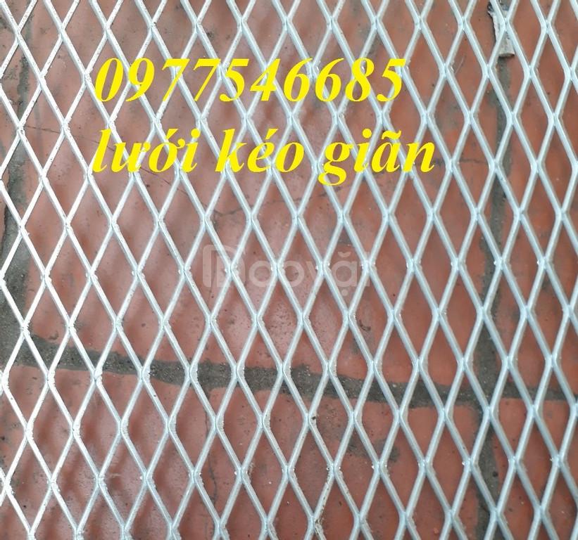 Lưới mắt cáo, lưới thép kéo giãn, lưới thép hình thoi (ảnh 6)