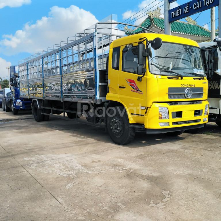 Giá xe tải Dongfeng Hoàng Huy 8 tấn, dongfeng b180 thùng 9m5