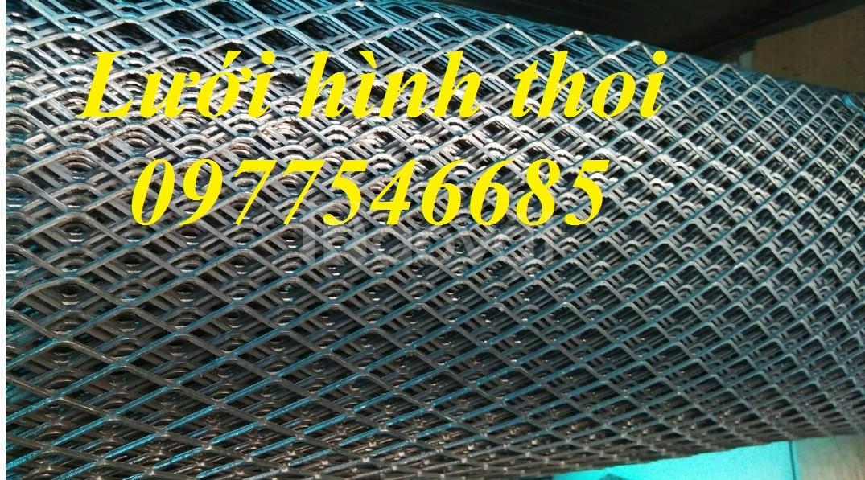 Lưới mắt cáo, lưới thép kéo giãn, lưới thép hình thoi (ảnh 4)