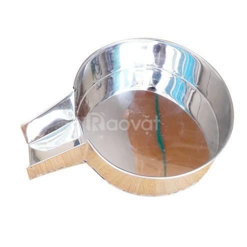 Máy ép nước cốt dừa inox dùng tay loại nhỏ