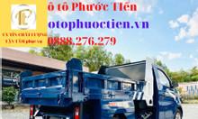 Xe Ben Tera 100 động cơ mitsubishi thùng hàng 1 khối tải trọng 770kg