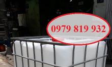 Cung cấp bồn nhựa vuông, bồn nhựa chứa hóa chất 1000l