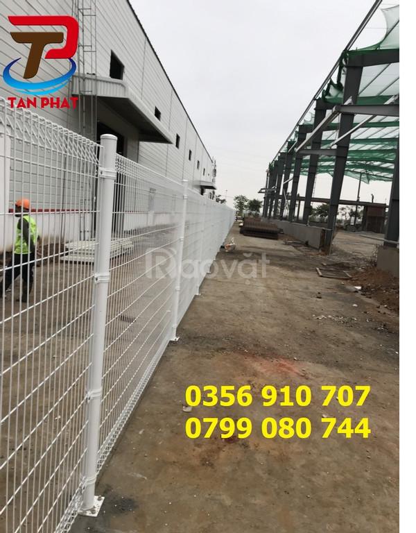 Hàng rào lưới thép dây 6ly,5ly, hàng rào bảo vệ
