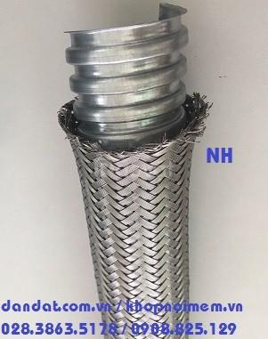 Ống ruột gà/ ống thép luồn dây điện bọc nhựa và ống ruột gà lõi thép (ảnh 3)