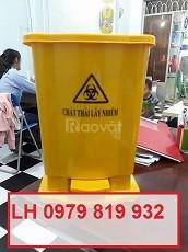 Bán thùng rác y tế, thùng rác đạp chân 15l 20l