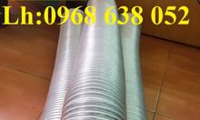 Ống bạc lắp quạt thông gió D75, D100, D125, D150, D175, D200