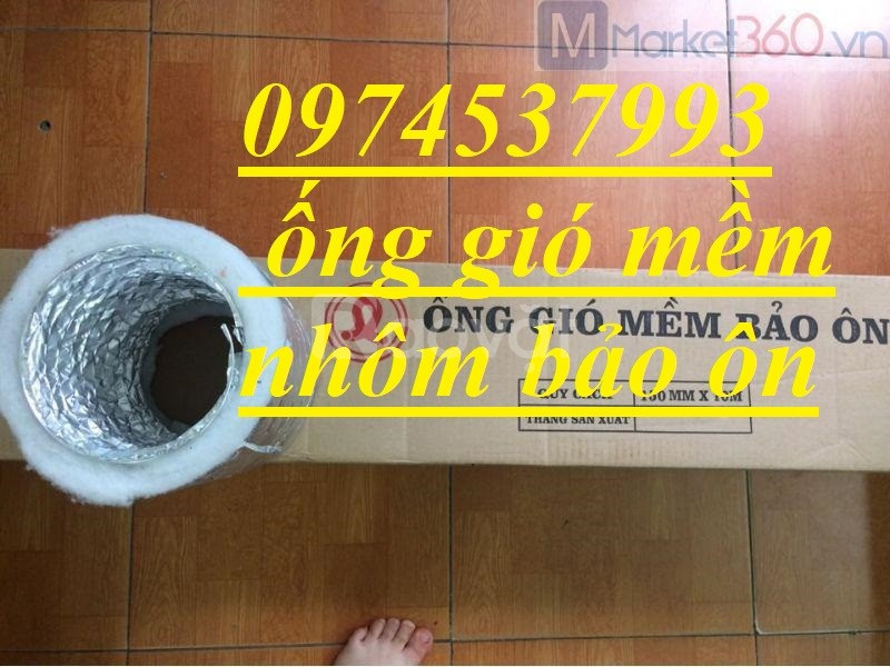 Phân phối ống gió Hàn Quốc, ống thông khí toàn nhà D200 giá tốt