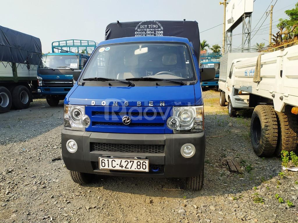 Xe tải Dongben 810kg + thùng 2m4 | trả trước 70 triệu nhận xe