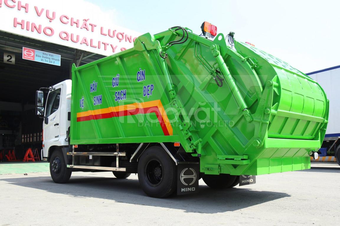 Xe ép rác Hino FC9JETC (9 Khối)