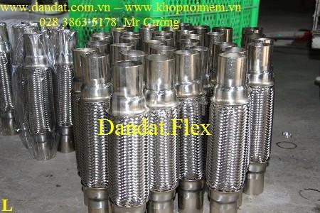 Ống xả mềm, ống giảm chấn cho bô ô tô, tàu biển, ống bô inox 304