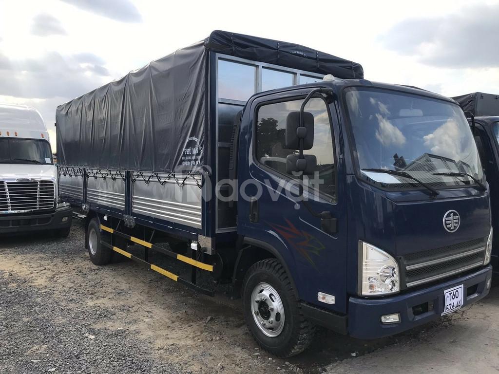 Bán xe tải faw 7.3 tấn ga cơ động cơ Hyundai nhập khẩu