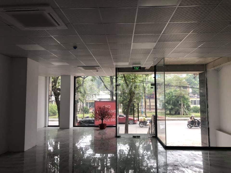 Cho thuê tòa nhà 7 tầng mặt đường Hoàng Quốc Việt