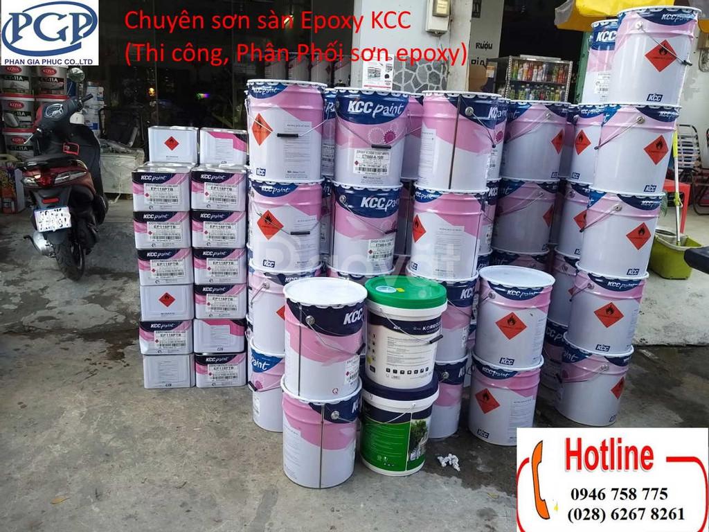Mua bán sơn phủ sàn KCC D40434(màu xanh)tại Đà Nẵng