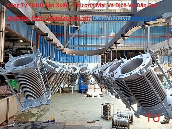 Khớp giãn nở ES-200/ khớp giãn nở vuông/khớp giãn nở/Khớp nối mềm inox (ảnh 4)