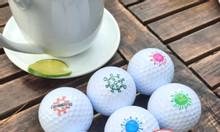 In logo lên bóng golf làm quà tặng