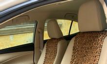 Khoác ghế ô tô hạt gỗ hương 105cm x45cm