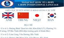 L-HOPE tuyển sinh các lớp học ngoại ngữ