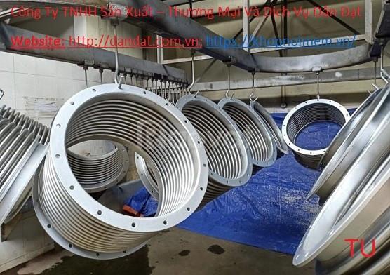 Khớp giãn nở ES-200/ khớp giãn nở vuông/khớp giãn nở/Khớp nối mềm inox (ảnh 6)