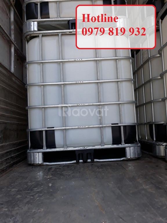 Cung cấp tank nhựa vuông 1000l đựng hóa chất