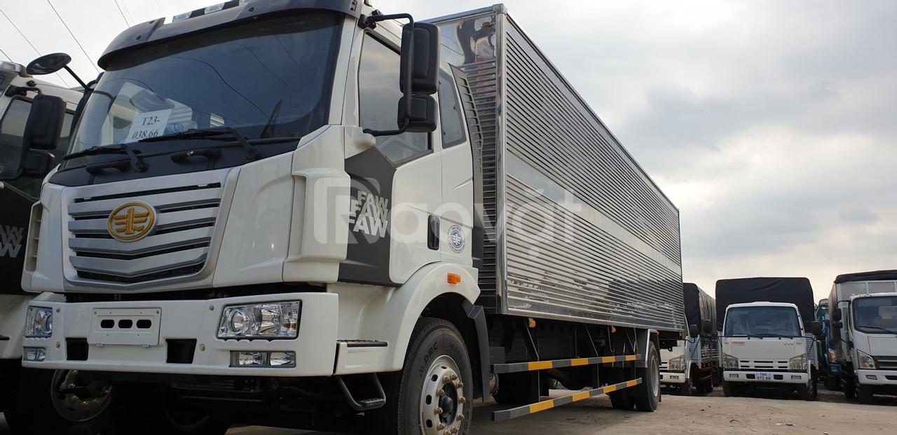Xe tải thùng dài 10m, xe tải faw 7t25 thùng dài 10m độc quyền tại HCM.