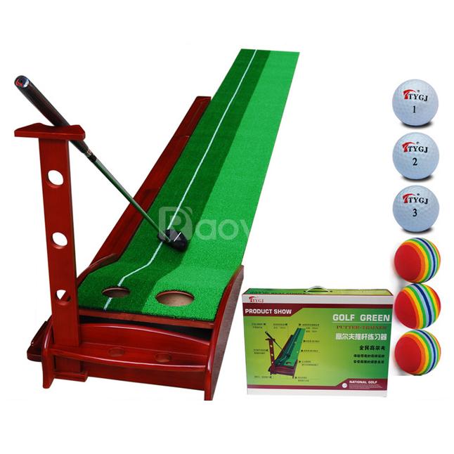 Bộ golf putting gỗ