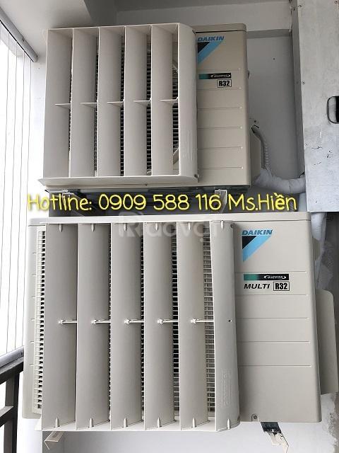 Mặt nạ chuyển hướng gió dàn nóng máy lạnh giá rẻ tại TPHCM