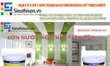Đại lý cấp 1 bán sơn ngoại thất Terraco Terralux thùng 25kg