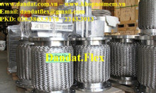 Ống mềm inox chịu nhiệt dn50, khớp nối mềm chống rung, khớp nối inox