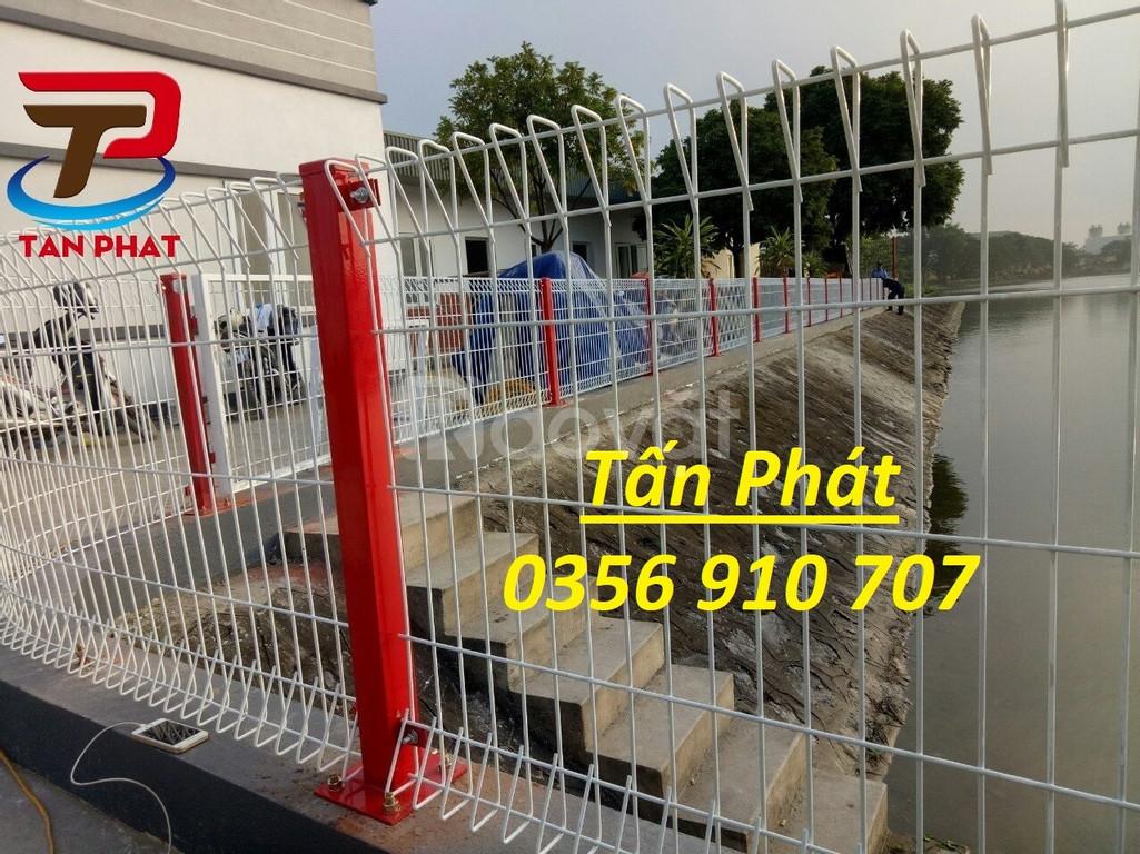 Hàng rào lưới thép hàn, hàng rào kho Dây 5ly, 4ly mạ kẽm