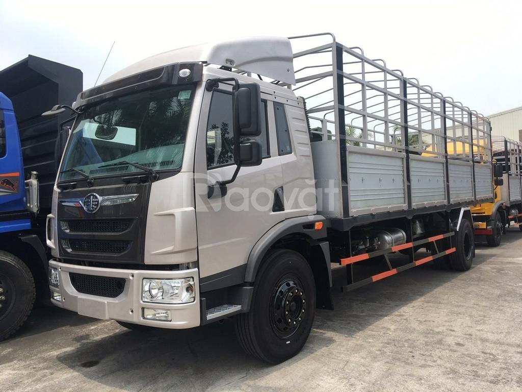 Xe tải chiến thắng 7.2 tấn ga cơ thùng 6m7 chở giấy giá thanh lý