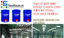 Cửa hàng bán sơn Epoxy cadin sàn bê tông uy tín