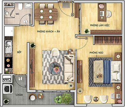 Cần bán căn hộ CC 6th element Tây hồ tây, DT 60m2, 2PN, 1WC, giá 2 tỷ