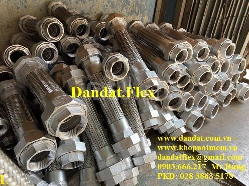 Nhà phân phối khớp nối mềm, ống mềm inox, ống nối mềm chịu nhiệt cao