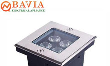 Đèn Led âm sàn vuông BAVIA UG802-4W