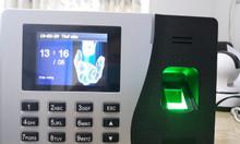 Lắp máy chấm công vân tay tại TPHCM giá rẻ, phần mềm Tiếng Việt