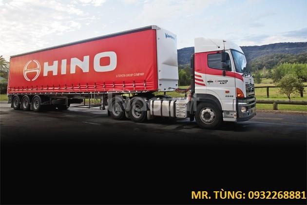 Xe đầu kéo Hino 2 cầu SS2PKSA giá tốt Euro V, giao ngay