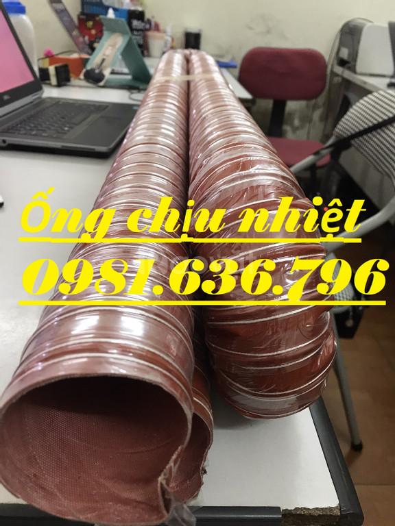 Đại lý ống silicon chịu khí nóng Phi 51mm