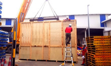 Đóng thùng gỗ cho máy móc xuất khẩu Hưng Yên