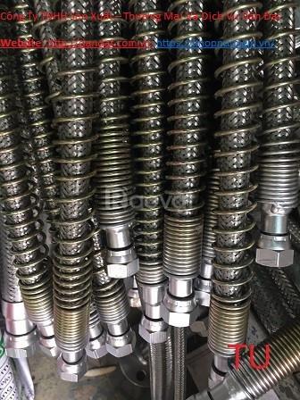 Khớp nối mềm cho nhà máy luyện thép, ống mềm chữa cháy, ống mềm pccc (ảnh 2)