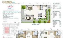 Bán biệt thự song lập, giá hạt rẻ tại KĐT Centa City Bắc Ninh
