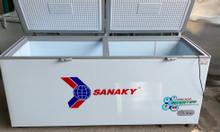 Tủ đông inverter Sanaky 761l mới 95%
