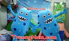 May mascot virut,vi khuẩn, mascot quảng cáo
