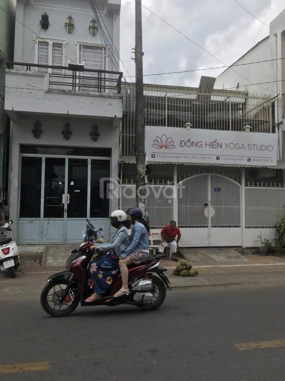 Bán nhà trệt lầu mặt tiền đường Bùi Hữu Nghĩa cách chợ Bình Thủy 50m .