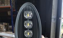 Đèn đường led 250W sáng
