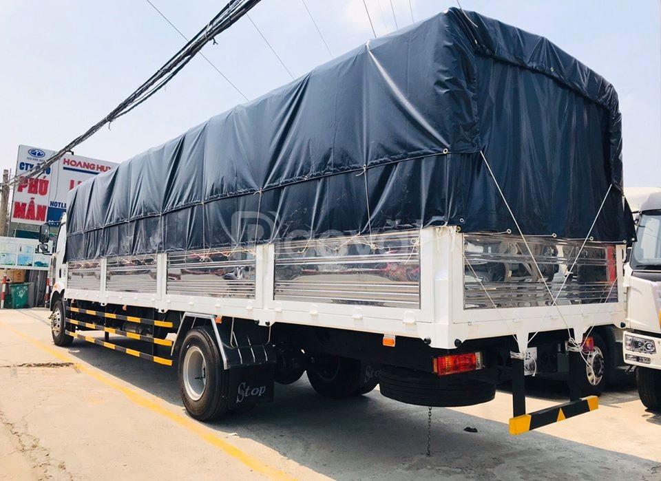Xe tải faw 7 tấn 25 thùng 9m6 giảm trực tiếp