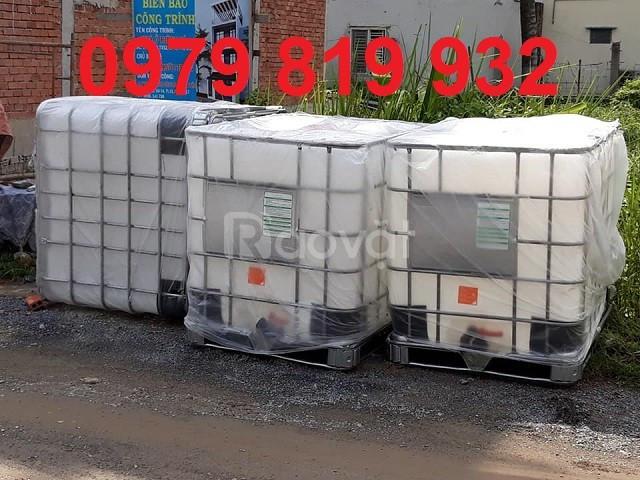Cung cấp thùng nhựa đựng hóa chất 1000 lít, đựng mỡ cá (ảnh 6)