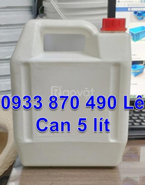 Can nhựa một lít đựng dầu nhờn