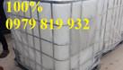Cung cấp bồn nhựa vuông, tank nhựa vuông 1000l đựng hóa chất (ảnh 3)