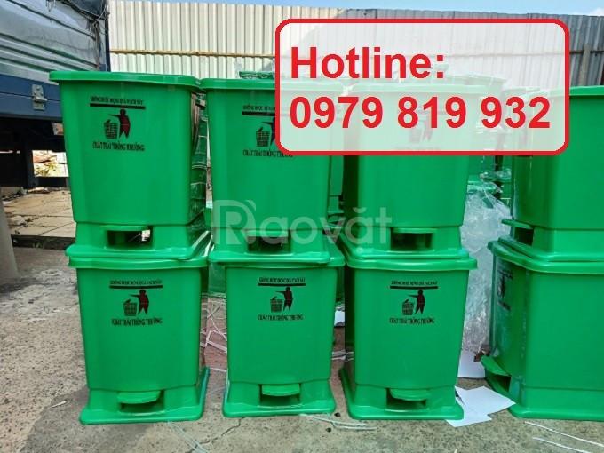 Bán thùng rác y tế, thùng đựng chất thải trong cơ sở y tế 15l 20l