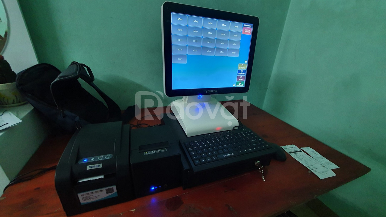Máy tính tiền cho quán trà chanh tại Bắc Ninh giá rẻ (ảnh 4)